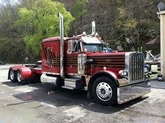 Peterbilt Show Trucks, Big Rig Trucks, Old Trucks, Peterbilt 359, Peterbilt Trucks, Classic Tractor, Classic Trucks, Nitro Express, Trailers