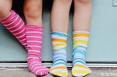 Как сшить носки (Diy)