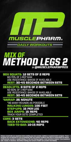 Mix of Methods Legs 2