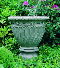 Certaldo Grape cast stone Planter made by Campania International
