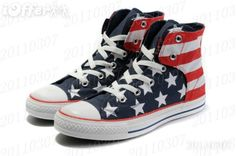 American Flag Converse ... never too early to plan for next year