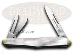 HEN & ROOSTER Mother of Pearl Whittler Pocket Knife - HR233MOP | 233MOP - 026615044512