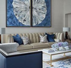 Blue living room | Get inspired by these amazing modern luxury pieces | www.bocadolobo.com/ #inspirationideas #inspiration #luxurybrands #luxury #luxurious #luxuryfurniture #interiordesign #bocadolobo