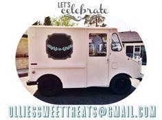 #treattruck #foodtruck #icecream #vintage #shabbychic #cute #fun #weddingideas #idaho #birthdayideas #sweets #cupcakes