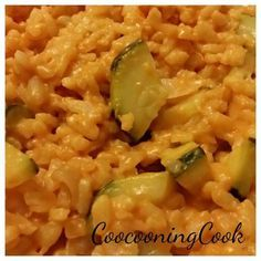 Risotto à la tomate et aux courgettes - recette tupperware -