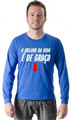 Dica #palcofashion #Camiseta - É de graça #moda #fashion
