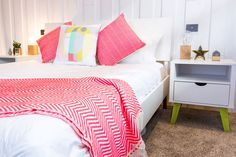 Check out Jamie and Hayden's Guest Bedroom from week one!