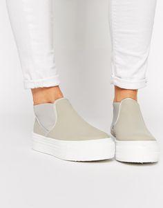 Image 1 of ASOS DANSON Flatform Sneakers