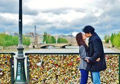 Paris DIY engagement shoot