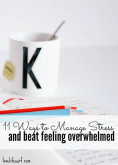 Struggling with feeling stressed and overwhelmed? Here's how to rein in your stress levels. 11 ways to manage stress and feeling overwhelmed.