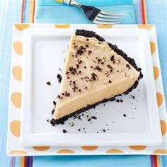 Chocolate Peanut Pie Recipe -I entered this pie in our county fair, and it was selected Grand Champion. Who can resist a tempting chocolate crumb crust and the creamy filling with big peanut butter taste? Be prepared to take an empty pan home when you serve this pie. —Doris Doherty, Albany, Oregon