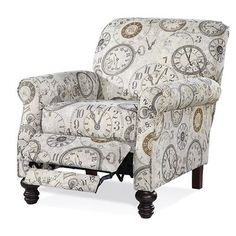 Darby Home Co Serta Upholstery Lettie Recliner Upholstery: Timeless Patina Accent Chairs For Living Room, New Living Room, Living Spaces, Red Accent Chair, Cheap Chairs, Chair Types, Diy Chair, Club Chairs, Lounge Chairs