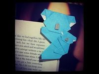 Ideas For Origami Facile Koala Origami Koala, Origami Mouse, Origami Fish, Origami Folding, Origami Art, Origami Penguin, Origami Simple, Useful Origami, Origami Instructions