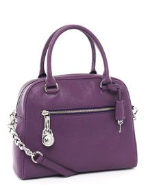 MICHAEL Michael Kors Knox Large Satchel, Purple