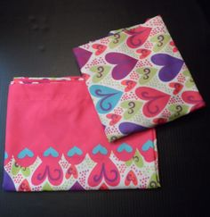 $29.89 + calculated (global) shipping ~ My Little Pony Girls Twin Sheets Set features Hearts Pattern....Flat & Fitted Sheets are included... NO pillowcase, by Franco/Hasbro~  ~~view over 595 items in 29 categories of merchandise in my ebay store. www.shellyssweetfinds.com