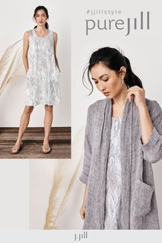 Light-as-air fabrics and soft, subtle patterns—this is the art of (summer) ease from Pure Jill.