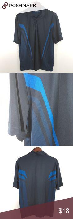 Puma Cell Moisture Wicking Blue /& Black Athletic Shirt Mens NWT