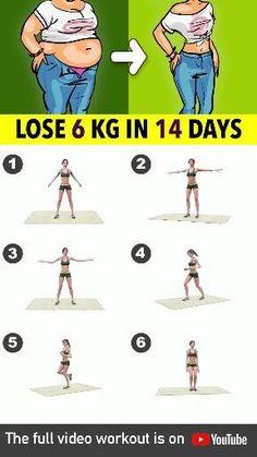 Full Body Gym Workout, Flat Tummy Workout, Slim Waist Workout, Gym Workout Tips, Fitness Workout For Women, Workout Challenge, Workout Videos, At Home Workouts, Cardio Workouts