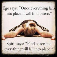 pretty girls pray quotes | Ego vs. Spirit | Quotes i adore! (: | Pinterest