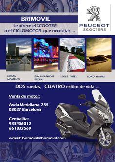 Brimovil te ofrece el SCOOTER o CICLOMOTOR que necesitas: http://www.brimovil.com #scooter #ciclomotor