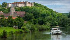 Croisière sur la Saône et le Canal du Centre (Bourgogne)  © Locaboat
