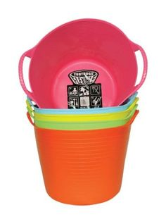 Storage Bins and Baskets 159898: Tubtrugs Flexible Tub 14 L Pastels Pack Of 5 -> BUY IT NOW ONLY: $45.61 on eBay!