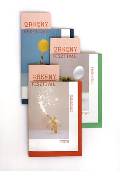 ÖRKENY FESTIVAL ID on Behance