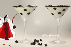 The 101 Dalmatians Cocktail - For more delicious recipes and drinks, visit us here: www.tipsybartender.com