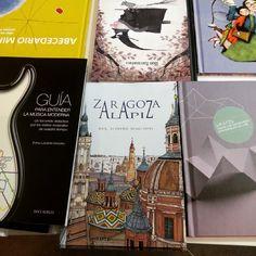 Zaragoza a lápiz, un magnifico libro con realidad aumentada, en el Armadillo Ilustrado #zaragoza