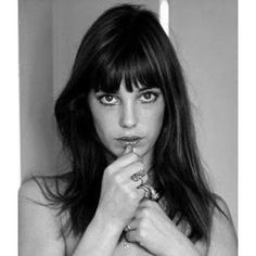 Hair + Makeup / Jane Birkin - bangs and long hair
