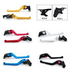 Mad Hornets - Standard Staff Length Adjustable Brake Clutch Levers Yamaha YZF R3 2015-2017, $44.99 (http://www.madhornets.com/standard-staff-length-adjustable-brake-clutch-levers-yamaha-yzf-r3-2015-2017/)