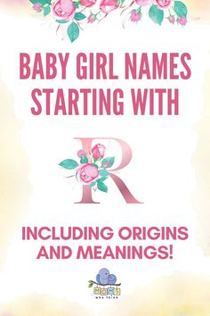 The most detailed list of popular & beautiful baby girl names starting with R. Discover hundreds of creative names for girls and girl middle names starting with the letter R along with the meanings and origin of each name! | baby r names ideas, baby girl r names #names #girlnames #babygirlnames #babynames #babygirl Popular Baby Girl Names, Beautiful Baby Girl Names, Beautiful Babies, Middle Names For Girls, Little King, Creative Names, Getting Ready For Baby, Babies R, Pregnancy Stages