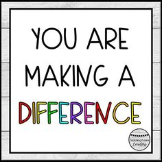 Teachers make a difference in their students lives everyday. Here is a colorful reminder for teachers everywhere! You Make A Difference, Teaching Quotes, Student Life, Teacher Gifts, Students, Colorful, Gift Ideas, Funny, Sorority Sugar