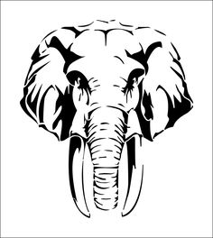 Find Elephant Mammoth stock images in HD and millions of other royalty-free stock photos, illustrations and vectors in the Shutterstock collection. Elephant Stencil, Elephant Wall Decor, Elephant Art, Elephant Silhouette, Animal Silhouette, Elephant Head Tattoo, Elephant Head Drawing, Animal Bedroom, Elephant Images
