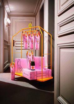 Les bagages de Madame Dufraise Veuve Cliquot