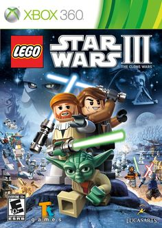 LEGO Star Wars III: The Clone Wars Box Front