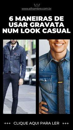 gravata, casual, moda masculina, estilo, homem Blazer Jeans, Nova, Ties, Pasta, Denim, Jackets, Style, Fashion, Denim Jacket Men
