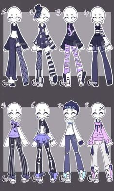 Art from da cute goth outfits, anime outfits, dress drawing, drawing clothes , Pastell Goth Outfits, Cute Goth Outfits, Anime Outfits, Art Reference Poses, Drawing Reference, Drawing Anime Clothes, Dress Drawing, Fashion Design Drawings, Drawing Base