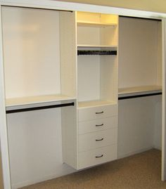 Classic closet, reach in closet, closet organizer, bedroom closet, California Closets Twin Cities MN