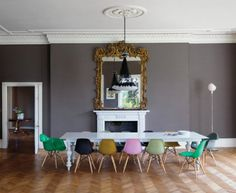 Colourful Dining Room | from Vogue Living Australia | House & Home