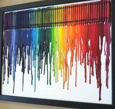 a little faith~a lot of heart: Crayola Spectrum Art