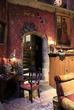 "bompstablecat: "" Gryffindor common room """