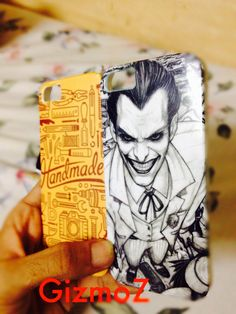 Joker Slaughter iphone case  Hand made doodle Iphone cover Iphone 5  #GizmoZ