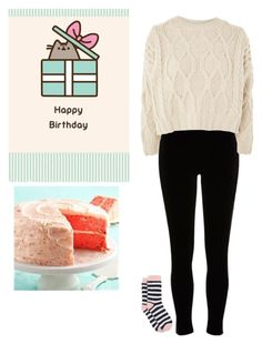 """It's my 17th Birthday!!!"" by blissfull-darkness on Polyvore featuring Pusheen, River Island, Topshop and Joules"