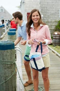 preppy and pretty for summer.