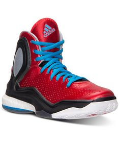 The Boys\u0026#39; Grade School adidas D Rose 5 Boost Basketball Shoes - RBB - Shop Finish Line today! Scarlet/Solar Blue/Core Black \u0026amp; more colors.