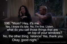 Grey's anatomy - Cristina calling her mom in the middle of the night. Haha ive done this to my mum before 😛 Grey Quotes, Tv Quotes, Movie Quotes, Grey's Anatomy, Greys Anatomy Memes, Grey Anatomy Quotes, Best Tv Shows, Best Shows Ever, Thats 70 Show