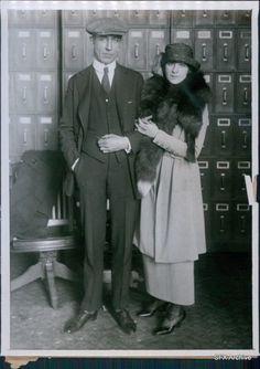 Kittyinva: 1918 Fannie Brice and Nick Arnstein.