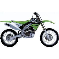 New Ray Kawasaki 2007 KX 450F Replica Motorcycle Toy w/ Free B & F Heart…