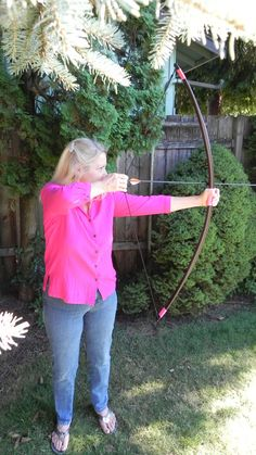 Archery Light Weight Long Bow 35lb Draw The Delilah by ArcheryBows, $19.99